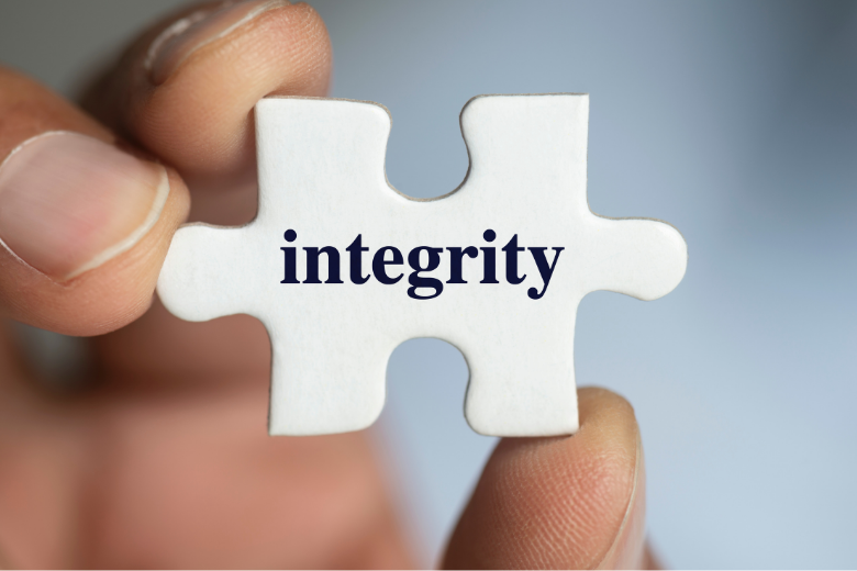 integrity, the missing puzzle piece